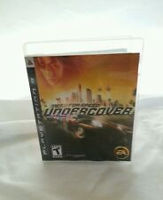 Sony PS3 PlayStation 3 Game Need For Speed Undercover 2008 Disc Case Booklet