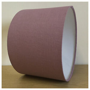 Mauve pure linen lightshade lampshade drum shade ceiling image is loading mauve pure linen lightshade lampshade drum shade ceiling aloadofball Image collections