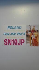 QSL- Pope John Paul II ten years of the pontificate sn10jp - Kraków, Polska - QSL- Pope John Paul II ten years of the pontificate sn10jp - Kraków, Polska