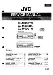 Trendmarkierung Service Manual-anleitung Für Jvc Xl-m309,xl-m408,xl-m409 Tv, Video & Audio