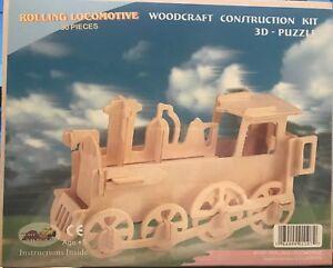 Locomotive Woodcraft Construction Kit