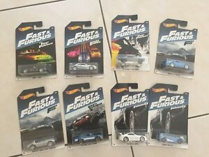HotWheels-2017-Fast-And-Furious-set-of-8-COMPLETE-NEW