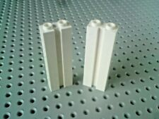Lego Brick with Groove Vertical 1x2x5 for Garage Doors 88393 White x2