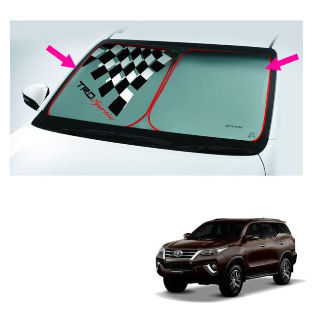 Front Sunshade Uv Nylon Genuine Silver For Toyota Fortuner Suv 2015 2018 60ff55ba620
