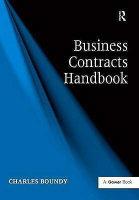 Business Contracts Handbook by Boundy, Charles