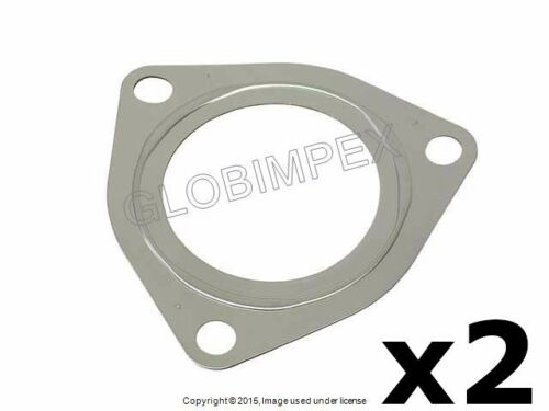 Porsche 911 /'07-/'15 Manifold to Turbocharger Exhaust Gasket Set of 2 ELRING OEM