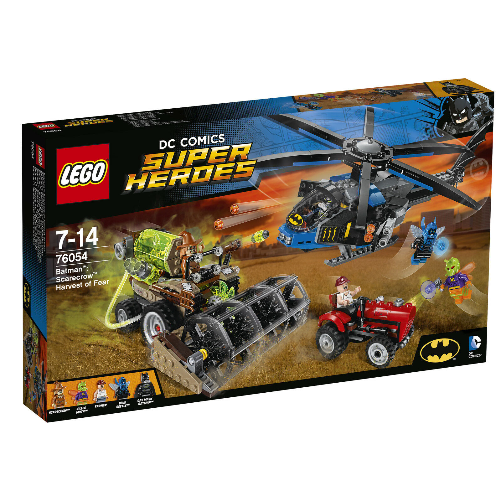 Lego DC Comics súper Heroes Batman SCocheecrow cosecha de miedo (76054) Nuevo Y En Caja