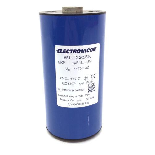 Capacitor E51.L12-202R20 Electronicon E51L12202R20