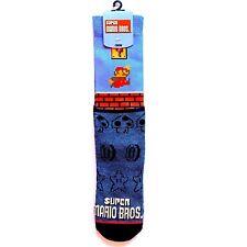 NWT SUPER MARIO BROS /'DUNGEON BLOCKS/' SOCKS Size OSFA