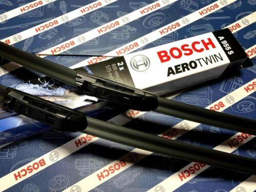 BMW 5 Série E60 E61 New Genuine Bosch A955S Aerotwin Essuie-Glace Avant Set de lames