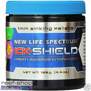 New-Life-Spectrum-Ick-Shield-125g-4-4-oz-1mm-Sinking-Pellet-FREE-USA-SHIPPING