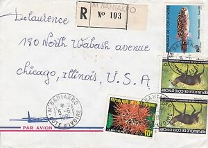 BD802-Ivory-Coast-1981-nice-registered-airmail-cover-to-USA