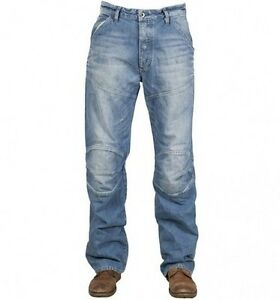 g star raw mens 5620 3d loose jeans 28 x 32 bnwt wheel denim medium aged s m ebay. Black Bedroom Furniture Sets. Home Design Ideas