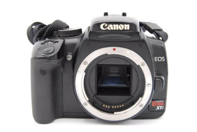 Canon eos 400d rebel xti 10 1mp camera with canon ef s 18