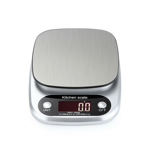 3//5//10kg Kitchen Digital Scale LCD Electronic Balance Food Weight Postal Scales