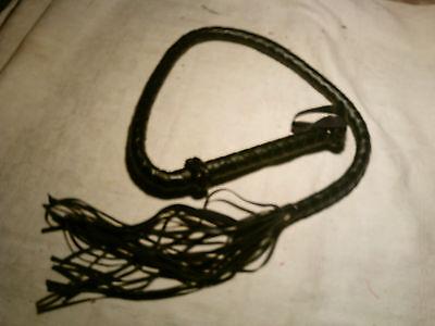 Lederpeitsche -Flogger whip