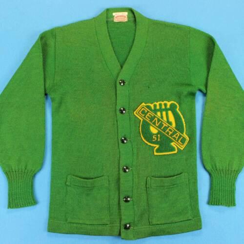 Men's VARSITY LETTERMAN Vintage Cardigan Size XS/S