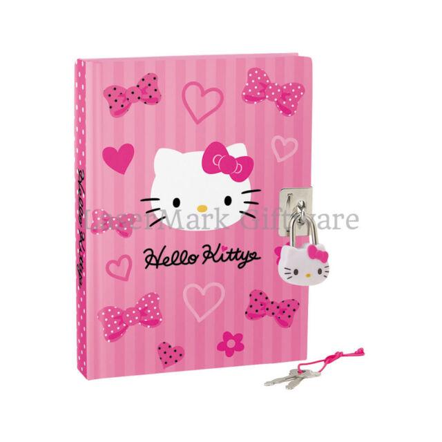 Hello Kitty Lockable Diary