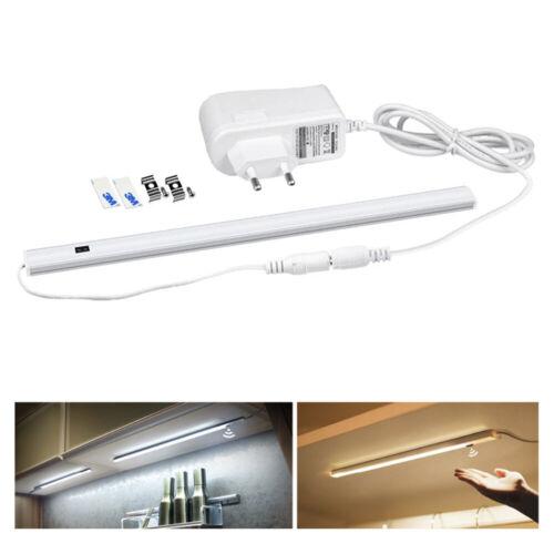 30//40//50cm Hand Sweep Sensor LED Under Cabinet LED Bar Light Closet Night