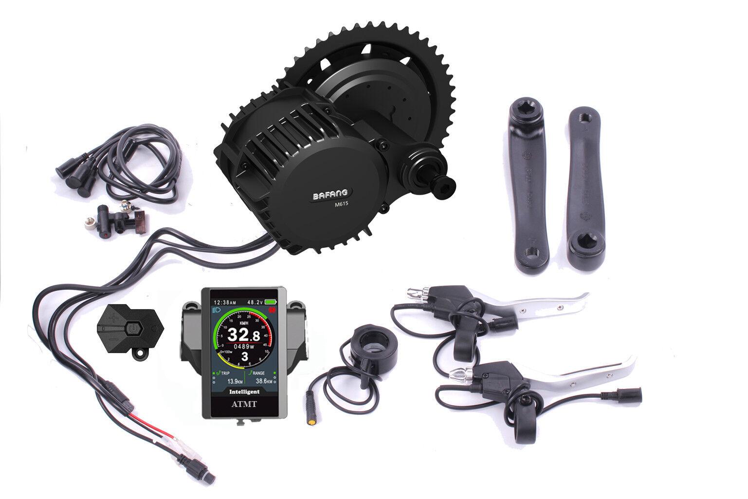 E-Bike Umbau Kit BAFANG G320  BBS03 48V 1000W Mittelmotor Umrüstsatz Farbdisplay  cheap designer brands