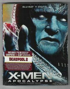 Sealed-Blu-Ray-Digital-X-MEN-APOCALYPSE-Also-In-French