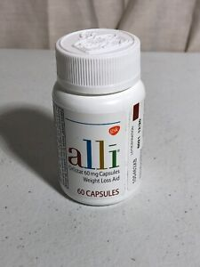 GSK alli Orlistat Weight Loss Aid (60/60mg Capsules ...