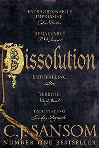 Dissolution (The Shardlake Series)-C. J. Sansom, 9781447285830