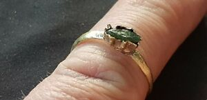 Ultra-rare-Exquisite-Medieval-bronze-finger-ring-Please-read-description-L33r