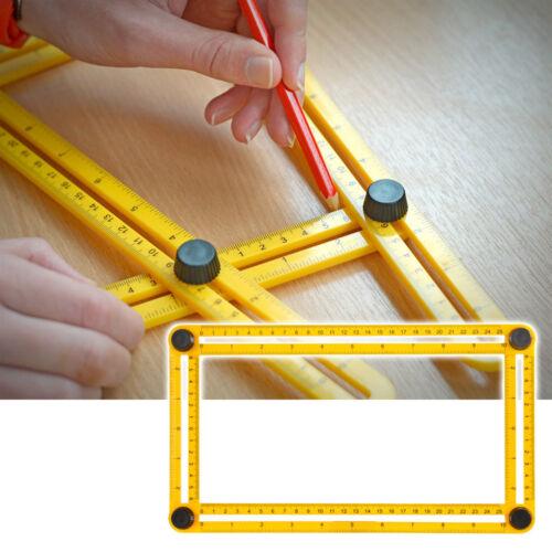 Mesurer Instrument Angle gabarit quadrilatéraux mètre mécanisme Glissière