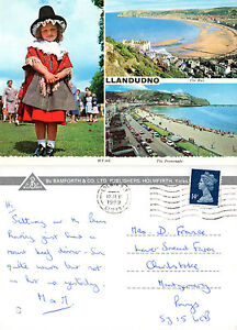 1989 MULTI VIEWS OF LLANDUDNO CAERNARVONSHIRE WALES COLOUR POSTCARD - Weston Super Mare, Somerset, United Kingdom - If the item you received has in any way been wrongly described or we have made a mistake regardless of the nature we will pay your return postage costs. If however the error is yours you pay for the return pos - Weston Super Mare, Somerset, United Kingdom