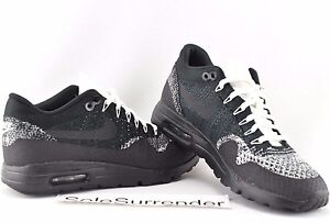 good 92411 e23f2 Details about Women's Air Max 1 Ultra Flyknit - CHOOSE SIZE - 859517-001  Black White Oreo One