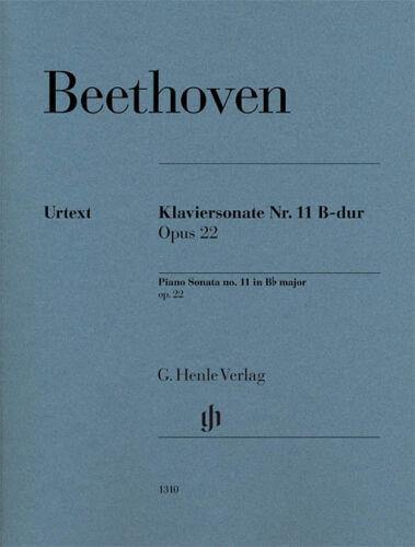 22 Sheet 051481310 11 in B-flat Major Op Beethoven Beethoven Piano Sonata No