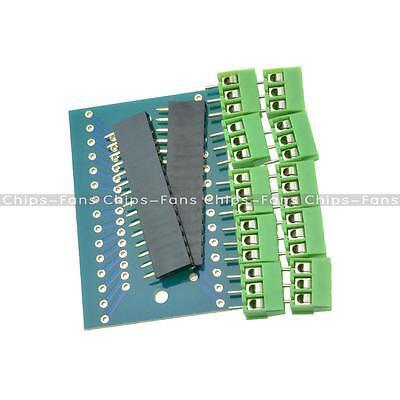 Expansion Board Terminal Adapter DIY Kits for Arduino NANO IO Shield V3.0 L2KD
