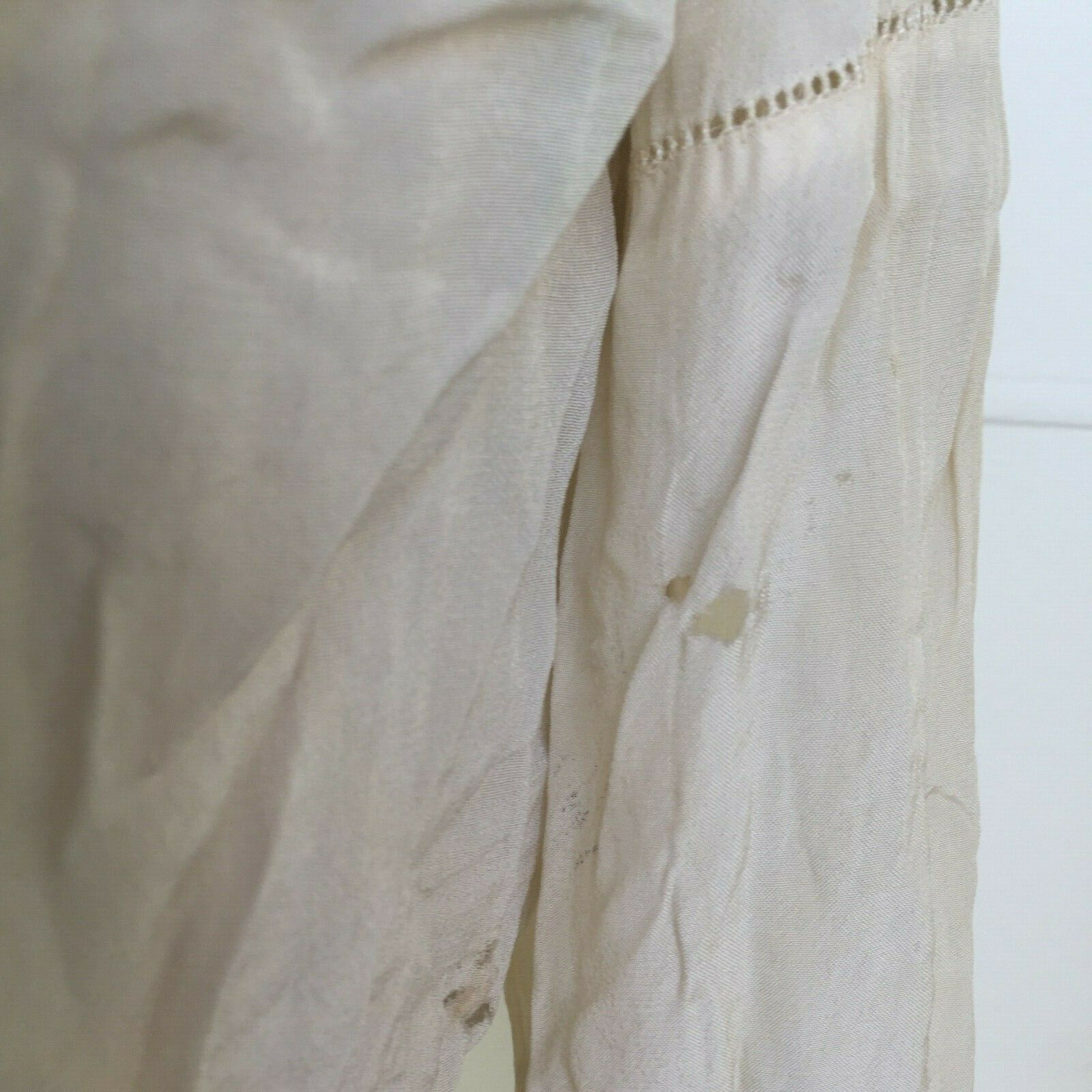 Vtg Hungarian Blouse S-M Embroidered Hand Made Fl… - image 10