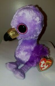 """Ty Beanie Boos - FIFI the Flamingo (Claire's Excl) 6"""" NEW - MINT with MINT TAGS"""