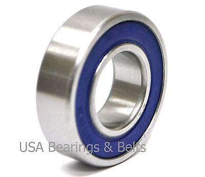 6200-2RS Premium 6200 2rs seal bearing 6200 ball bearings 6200 RS ABEC3 Qty.2