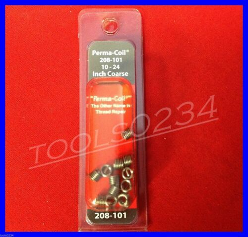 Perma Coil 208-101 SAE Coarse Inserts 10-24 Package of 12 USA MADE Free Shipping