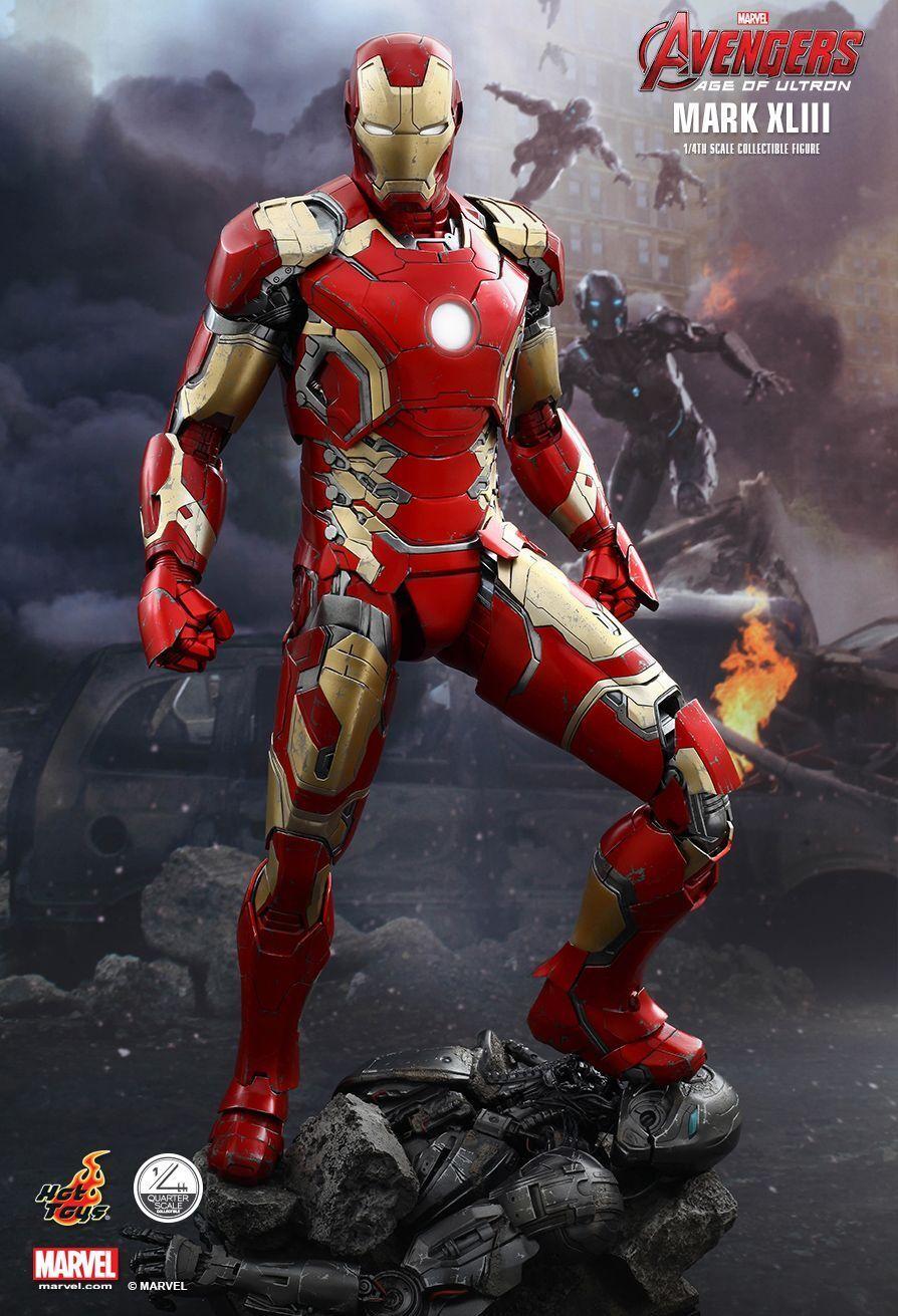 Hot Toys QS005 Iron Man Mark XLIII