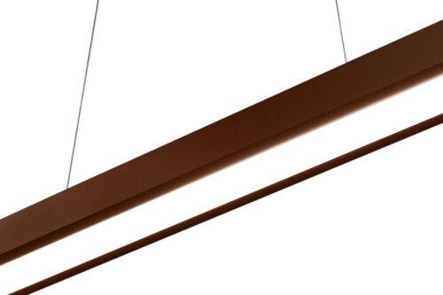 LED Hängeleuchte Pendelleuchte WI80LED-BRAUN Deckenleuchte 80cm verstellbar