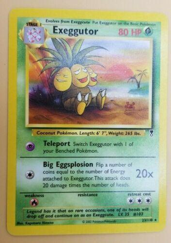 Near Mint Rare Pokemon- Legendary Collection Exeggutor 23//110
