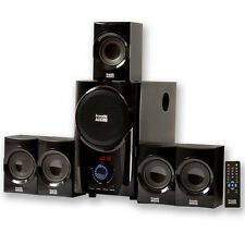 Acoustic Audio AA5160 Home Theater 5.1 Speaker System with USB / SD Multimedia