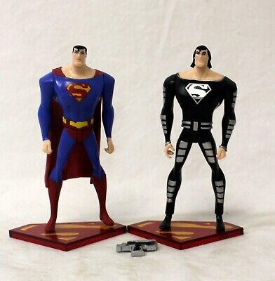 Dc Direct Superman Doomsday Superman Solar Suit Figure Lot Ebay