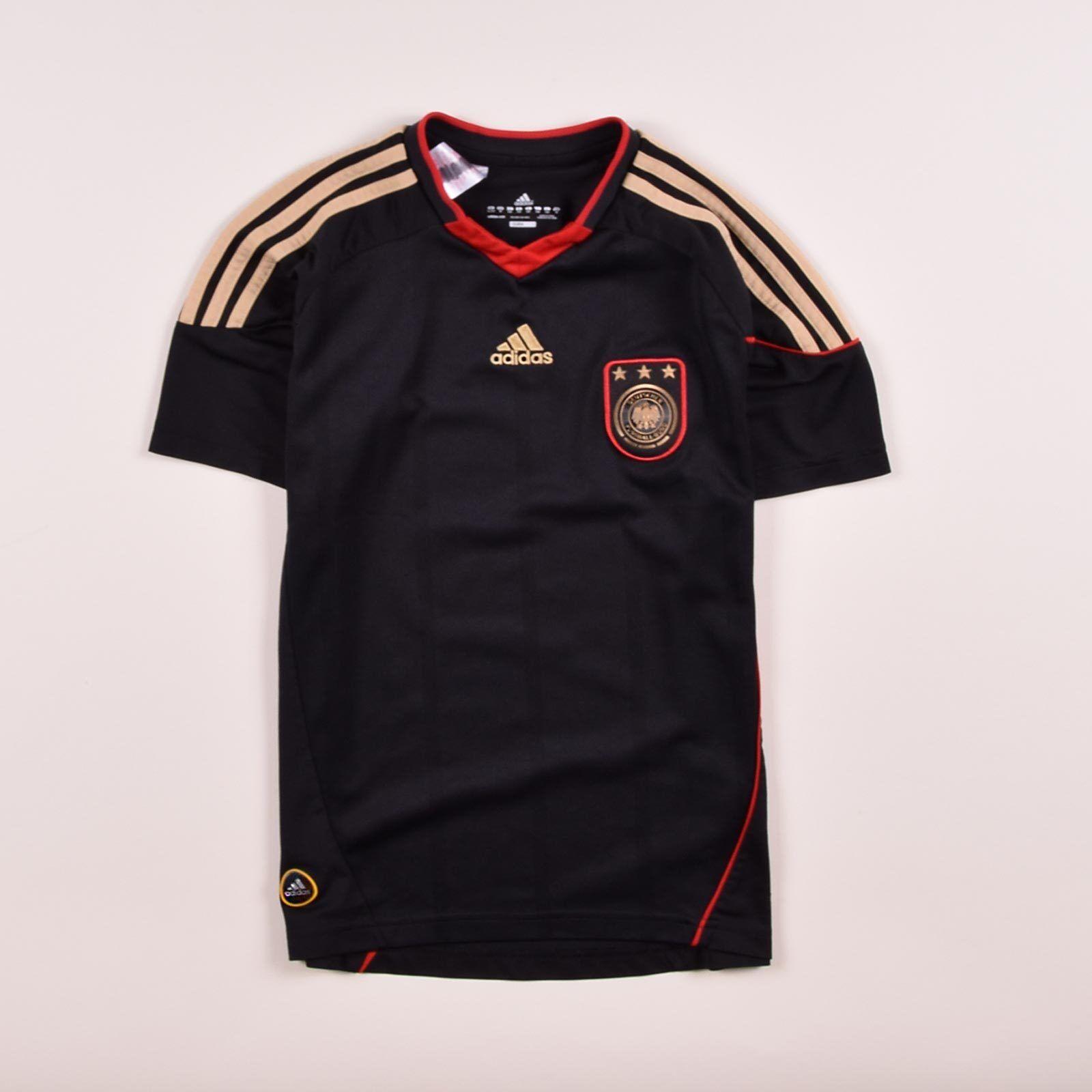 Adidas Junge Kinder Trikot Jersey Gr.152 DFB Deutschland 2010 black, 52713