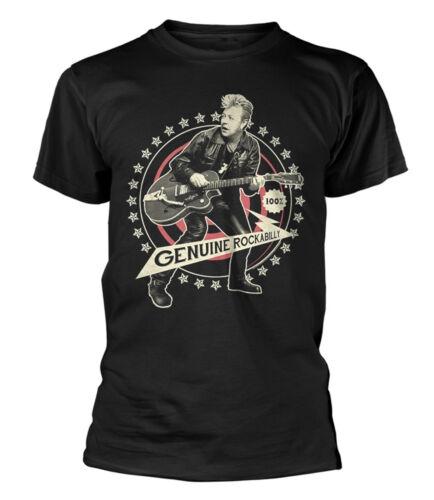 NEW /& OFFICIAL! Brian Setzer /'Genuine Rockabilly/' T-Shirt