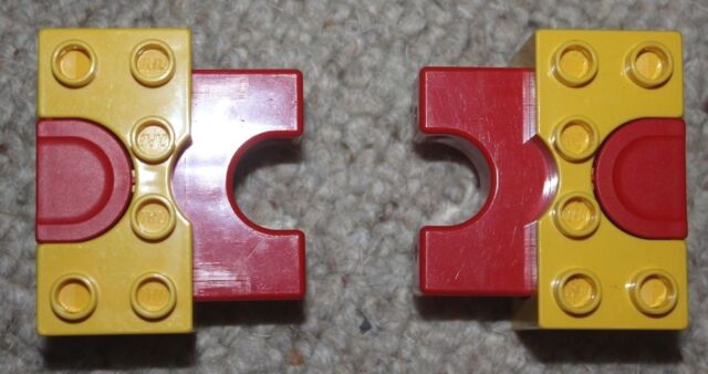 RARE Lego Duplo Red & Yellow Car Launcher 31080