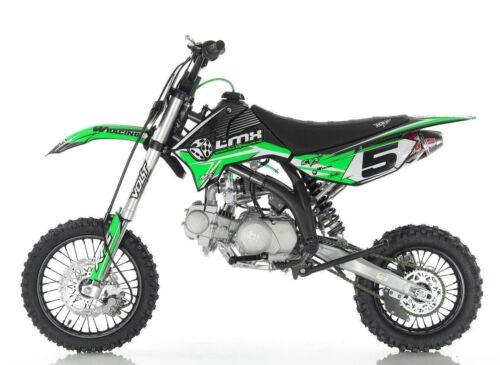 Pit bike LMX RFZ Graphic kit Green Open elite elites pit bike graphics only