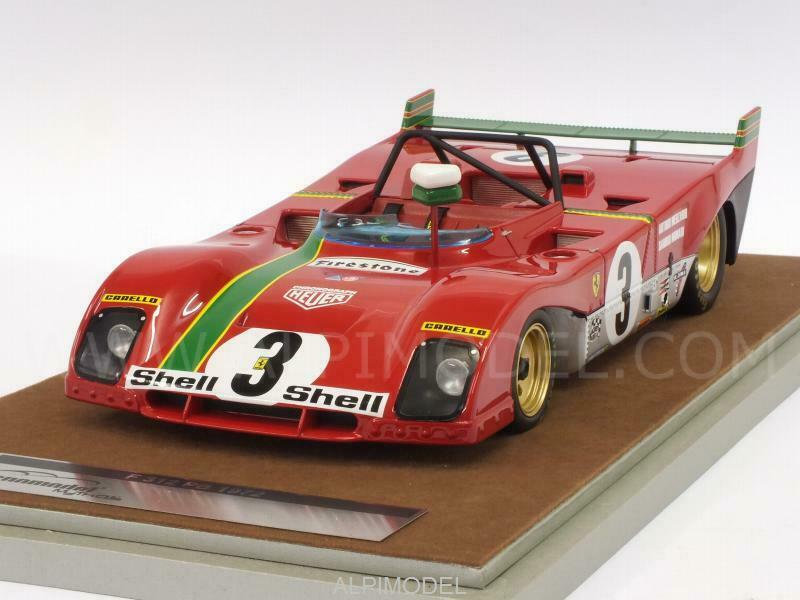 Ferrari 312 PB Winner Targa Florio 1972 Merzario - M 1 18 TECNOMODEL TM18-62D