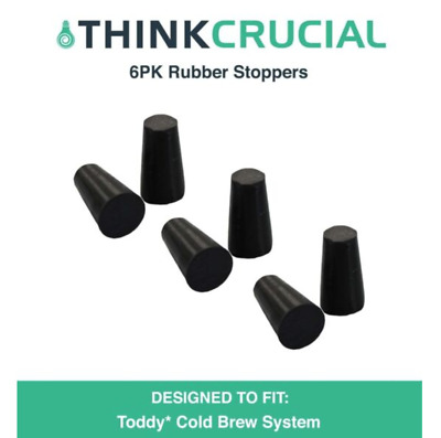 2 Replacements for Toddy Rubber Stoppers Fit Toddy Cold Brew Systems by Think Crucial