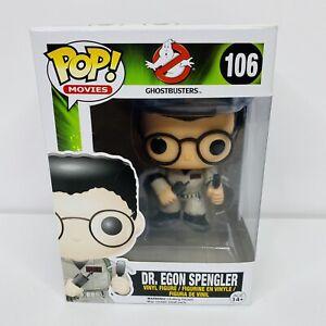 Ghostbusters-Dr-Egon-Spengler-Funko-Pop-106-Rare-amp-Vaulted-Protector