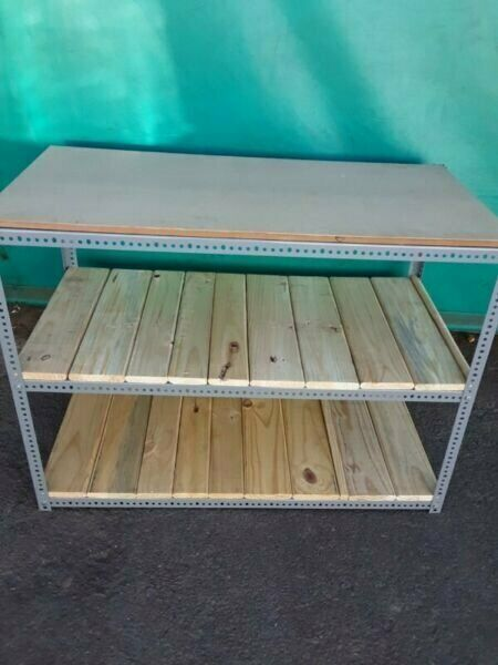 Bolted light duty Work bench